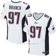 Camiseta New England Patriots Branch Blanco Nike Elite NFL Hombre