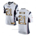 Camiseta New England Patriots Butler Blanco Nike Gold Game NFL Hombre