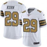 Camiseta New Orleans Saints Kuhn Blanco Nike Legend NFL Hombre