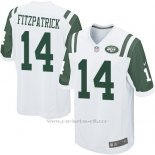 Camiseta New York Jets Fitzpatrick Blanco Nike Game NFL Nino