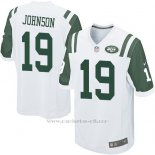 Camiseta New York Jets Johnson Blanco Nike Game NFL Nino