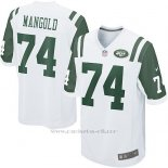 Camiseta New York Jets Mangold Blanco Nike Game NFL Nino