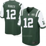 Camiseta New York Jets Namath Verde Nike Game NFL Nino