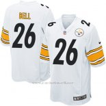 Camiseta Pittsburgh Steelers Bell Blanco Nike Game NFL Nino