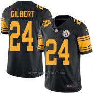 Camiseta Pittsburgh Steelers Gilbert Negro Nike Legend NFL Hombre2