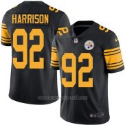 Camiseta Pittsburgh Steelers Harrison Negro Nike Legend NFL Hombre