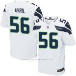 Camiseta Seattle Seahawks Avril Blanco Nike Elite NFL Hombre