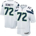 Camiseta Seattle Seahawks Bennett Blanco Nike Game NFL Nino