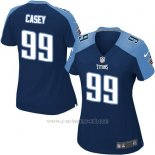 Camiseta Tennessee Titans Casey Azul Oscuro Nike Game NFL Mujer