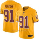 Camiseta Washington Redskins Kerrigan Amarillo Nike Legend NFL Hombre