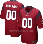 Camisetas NFL Limited Houston Texans Personalizada Rojo