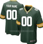 Camisetas NFL Limited Nino Green Bay Packers Personalizada Verde