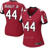 Camiseta Atlanta Falcons Beasley Jr Nike Game NFL Rojo Mujer