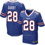 Camiseta Buffalo Bills Darby Azul Nike Elite NFL Hombre