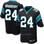 Camiseta Carolina Panthers Bradberry Negro Nike Game NFL Hombre