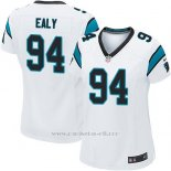Camiseta Carolina Panthers Ealy Blanco Nike Game NFL Mujer