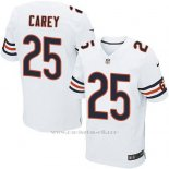 Camiseta Chicago Bears Carey Blanco Nike Elite NFL Hombre