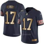 Camiseta Chicago Bears Jeffry Profundo Azul Nike Gold Legend NFL Hombre
