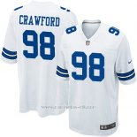 Camiseta Dallas Cowboys Crawford Blanco Nike Game NFL Nino