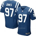 Camiseta Indianapolis Colts Jones Azul Nike Elite NFL Hombre