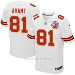 Camiseta Kansas City Chiefs Avant Blanco Nike Elite NFL Hombre