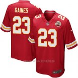 Camiseta Kansas City Chiefs Gaines Rojo Nike Game NFL Nino