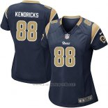 Camiseta Los Angeles Rams Kendricks Negro Nike Game NFL Mujer