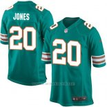Camiseta Miami Dolphins Jones Verde Oscuro Nike Game NFL Nino