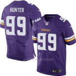 Camiseta Minnesota Vikings Hunter Violeta Nike Elite NFL Hombre