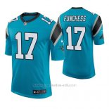 Camiseta NFL Elite Hombre Carolina Panthers Devin Funchess Azul