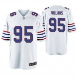 Camiseta NFL Game Hombre Buffalo Bills Kyle Williams Throwback Blanco