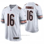 Camiseta NFL Game Hombre Chicago Bears Pat O'donnell Blanco