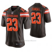 Camiseta NFL Game Hombre Cleveland Browns Damarious Randall Marron