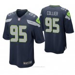 Camiseta NFL Game Hombre Seattle Seahawks L.j. Collier Azul