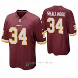 Camiseta NFL Game Hombre Washington Redskins Wendell Smallwood Rojo