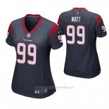Camiseta NFL Game Mujer Houston Texans J.j. Watt Azul