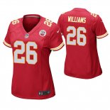 Camiseta NFL Game Mujer Kansas City Chiefs Damien Williams Rojo