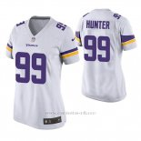 Camiseta NFL Game Mujer Minnesota Vikings Danielle Hunter Blanco