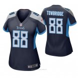 Camiseta NFL Game Mujer Tennessee Titans Keith Towbridge Azul2