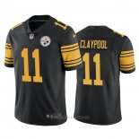 Camiseta NFL Game Pittsburgh Steelers Chase Claypool Color Rush Negro