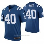 Camiseta NFL Legend Hombre Indianapolis Colts Spencer Ware Azul Color Rush