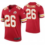 Camiseta NFL Legend Hombre Kansas City Chiefs Damien Williams Rojo Color Rush