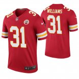 Camiseta NFL Legend Hombre Kansas City Chiefs Darrel Williams Rojo Color Rush