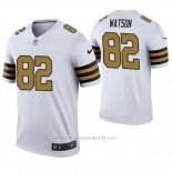 Camiseta NFL Legend Hombre New Orleans Saints Benjamin Watson Blanco Color Rush