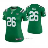 Camiseta NFL Legend Mujer New York Jets Le'veon Bell Verde Color Rush