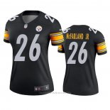 Camiseta NFL Legend Mujer Pittsburgh Steelers Anthony Mcfarland Jr. Negro