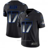 Camiseta NFL Limited Buffalo Bills Allen Smoke Fashion Negro