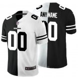 Camiseta NFL Limited Cleveland Browns Personalizada Black White Split