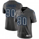 Camiseta NFL Limited Dallas Cowboys Lawrence Static Fashion Gris