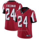 Camiseta NFL Limited Hombre Atlanta Falcons 24 Devonta Freeman Rojo Stitched Vapor Untouchable